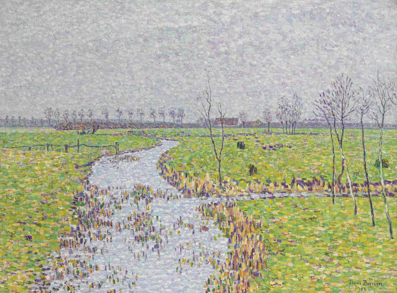 Landschaft bei Sluis