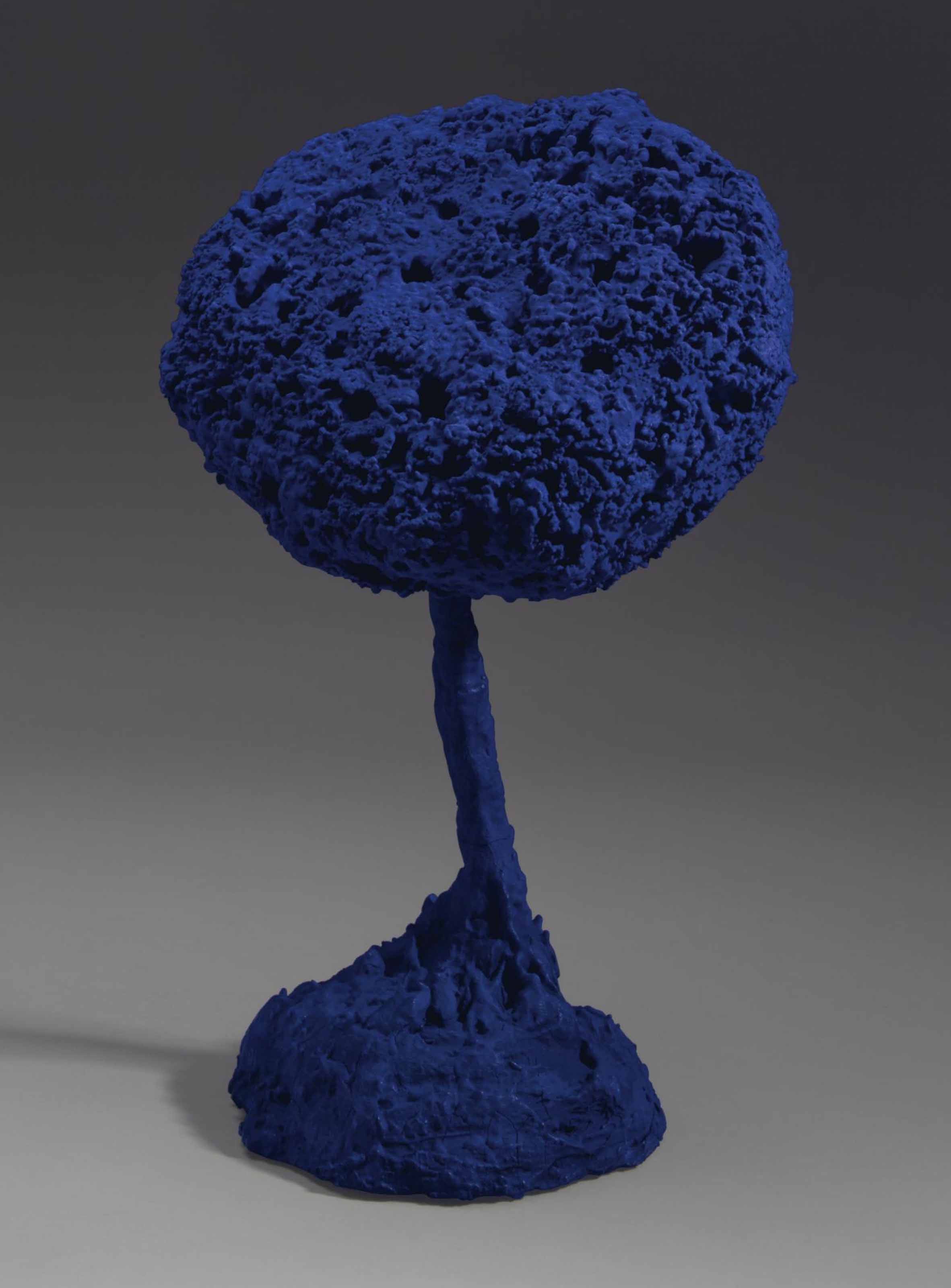 yves klein 1928 1962 untitled blue sponge sculpture se 181 christie 39 s. Black Bedroom Furniture Sets. Home Design Ideas