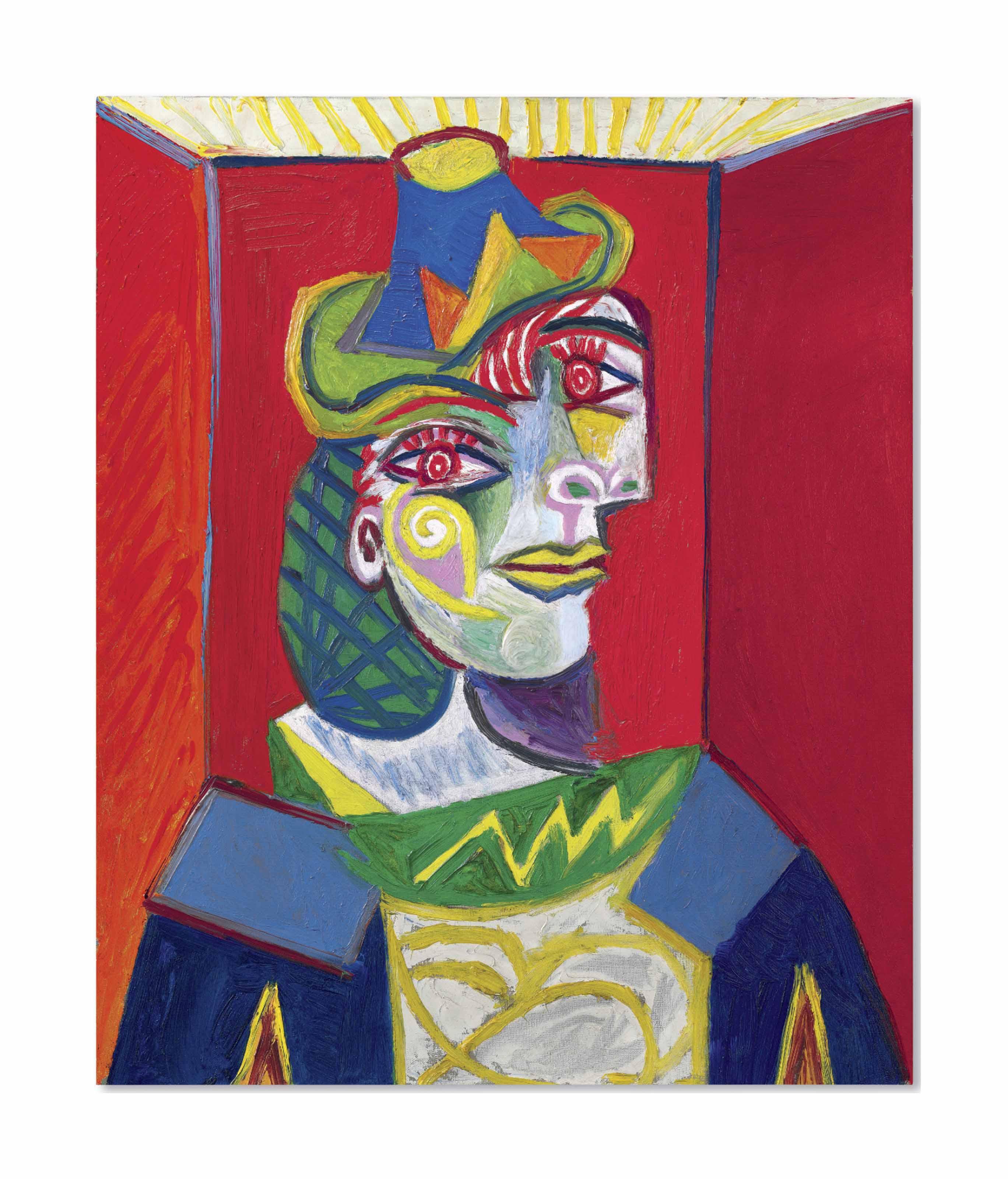 Pablo Picasso (1881-1973) | Buste de femme (Femme à la résille ...