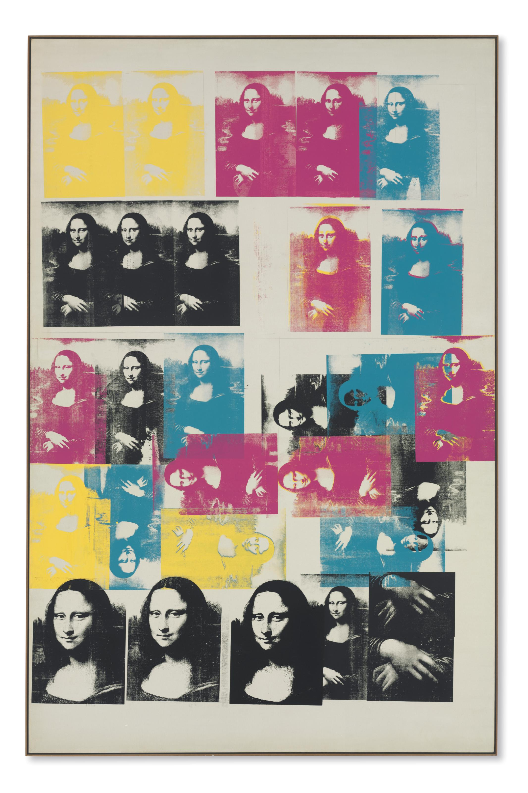 Fabuleux Andy Warhol (1928-1987) | Colored Mona Lisa | 1960s, Paintings &QS_78