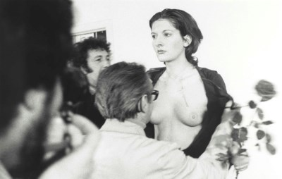 Marina Abramovic (b. 1946)