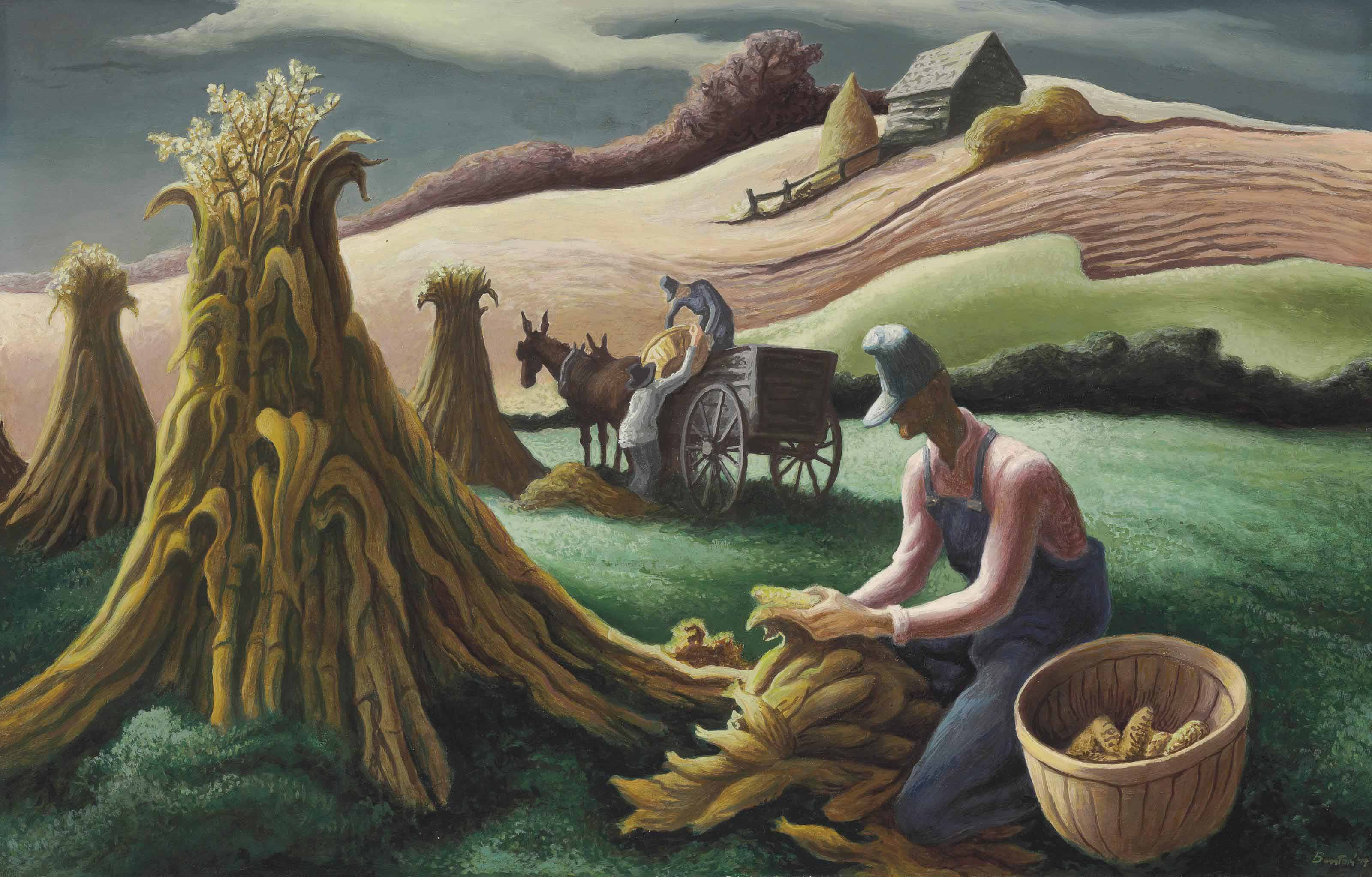 thomas hart benton essay Lot essay thomas hart benton was the son of a missouri politician who passed on his strong patriotic feeling toward his country evident in his paintings throughout.
