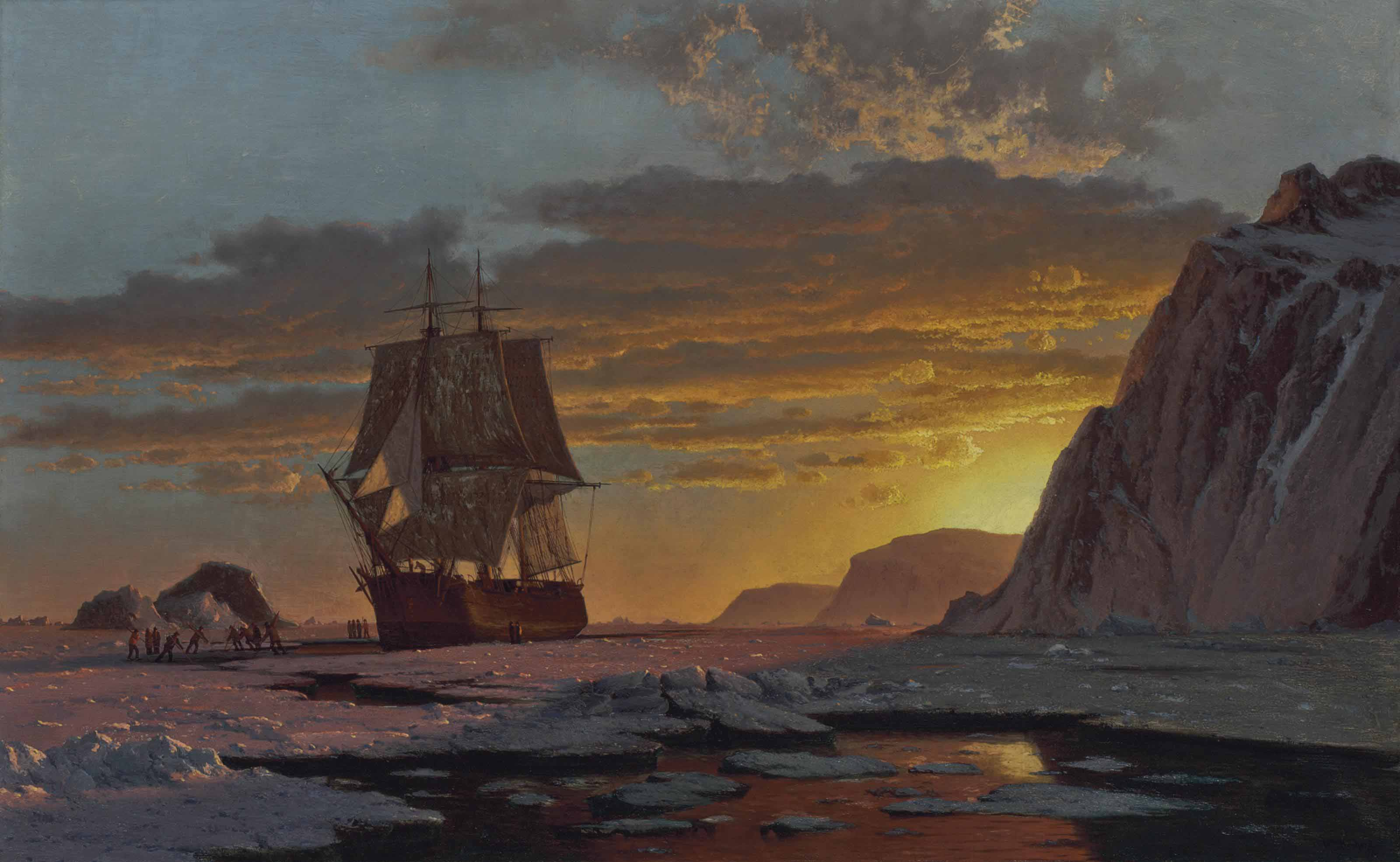 Midnight Sun, The Arctic