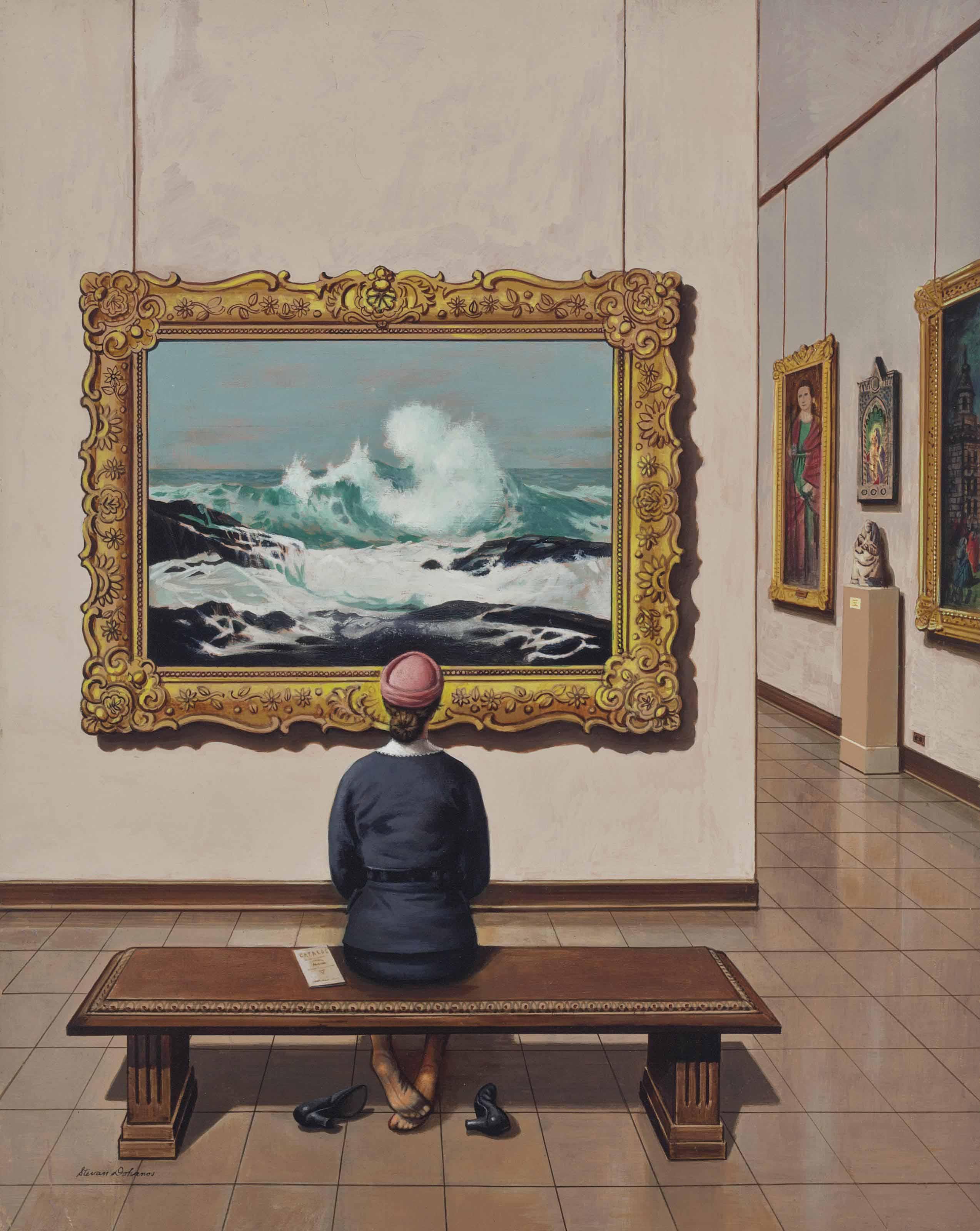 Art Lover (Tired Museum Feet)