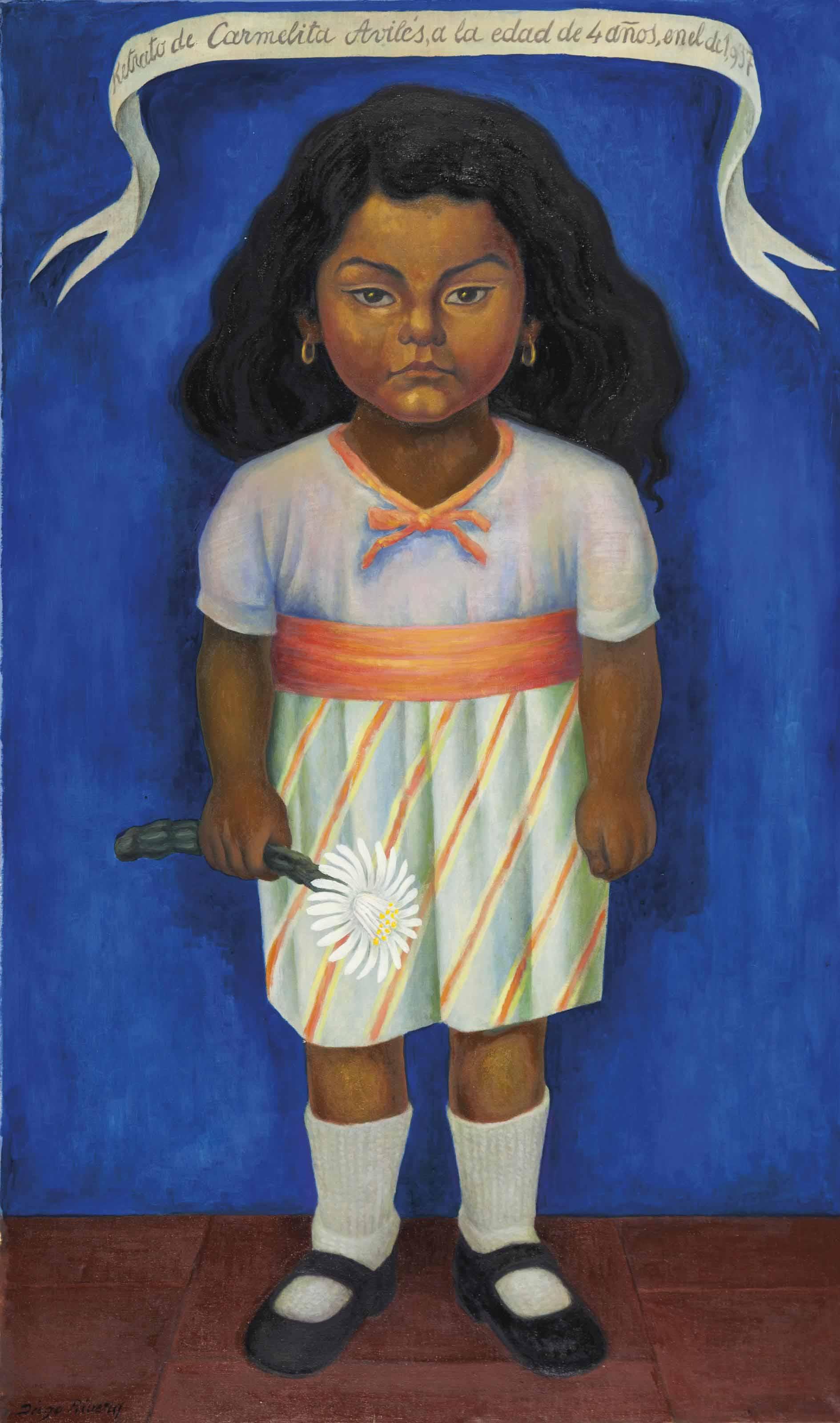 Retrato de Carmelita Avilés