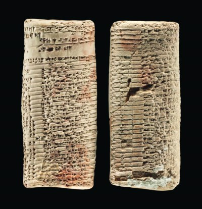 TWO OLD BABYLONIAN CLAY CUNEIF