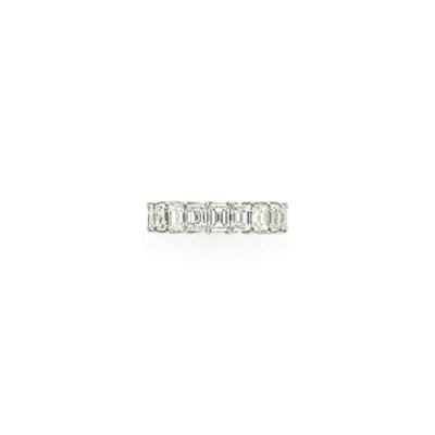A DIAMOND ETERNITY BAND, BY BV