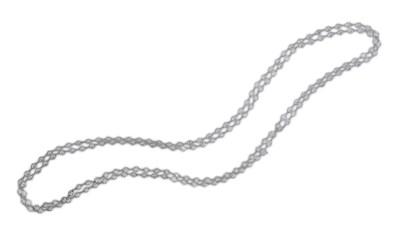 A DIAMOND LONGCHAIN NECKLACE