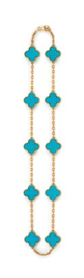A TURQUOISE AND GOLD