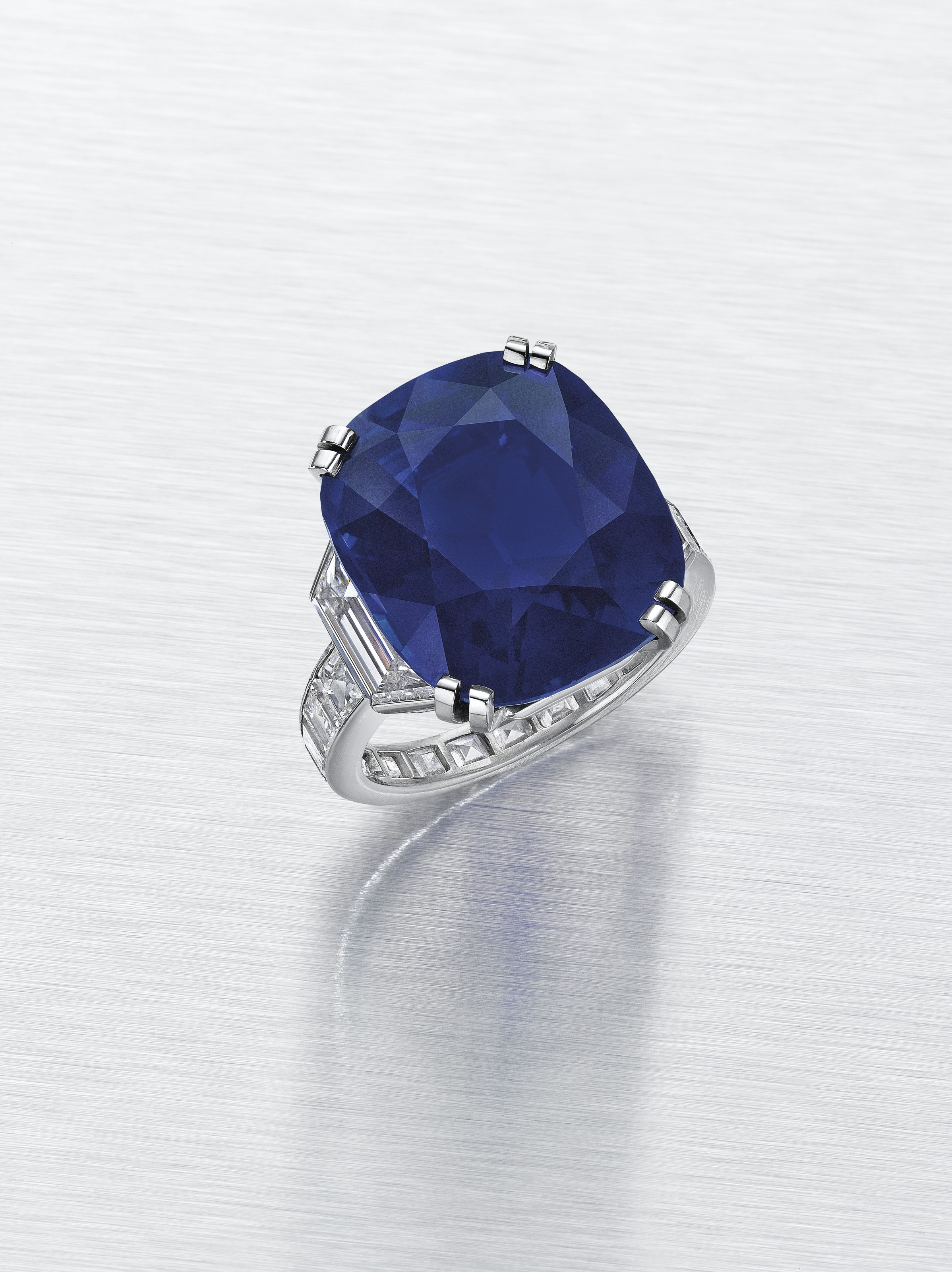 metallic yellow lyst fullscreen jewelry diamond cartier view ring in sapphire