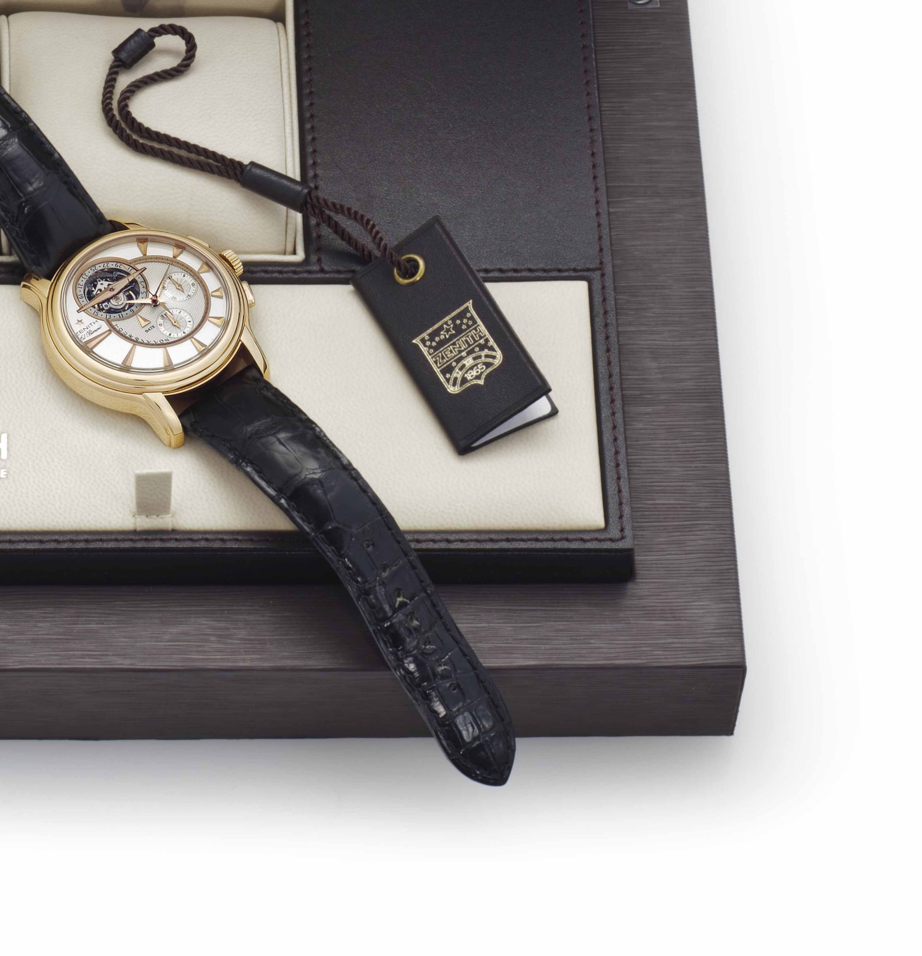 Zenith. A Limited Edition Very
