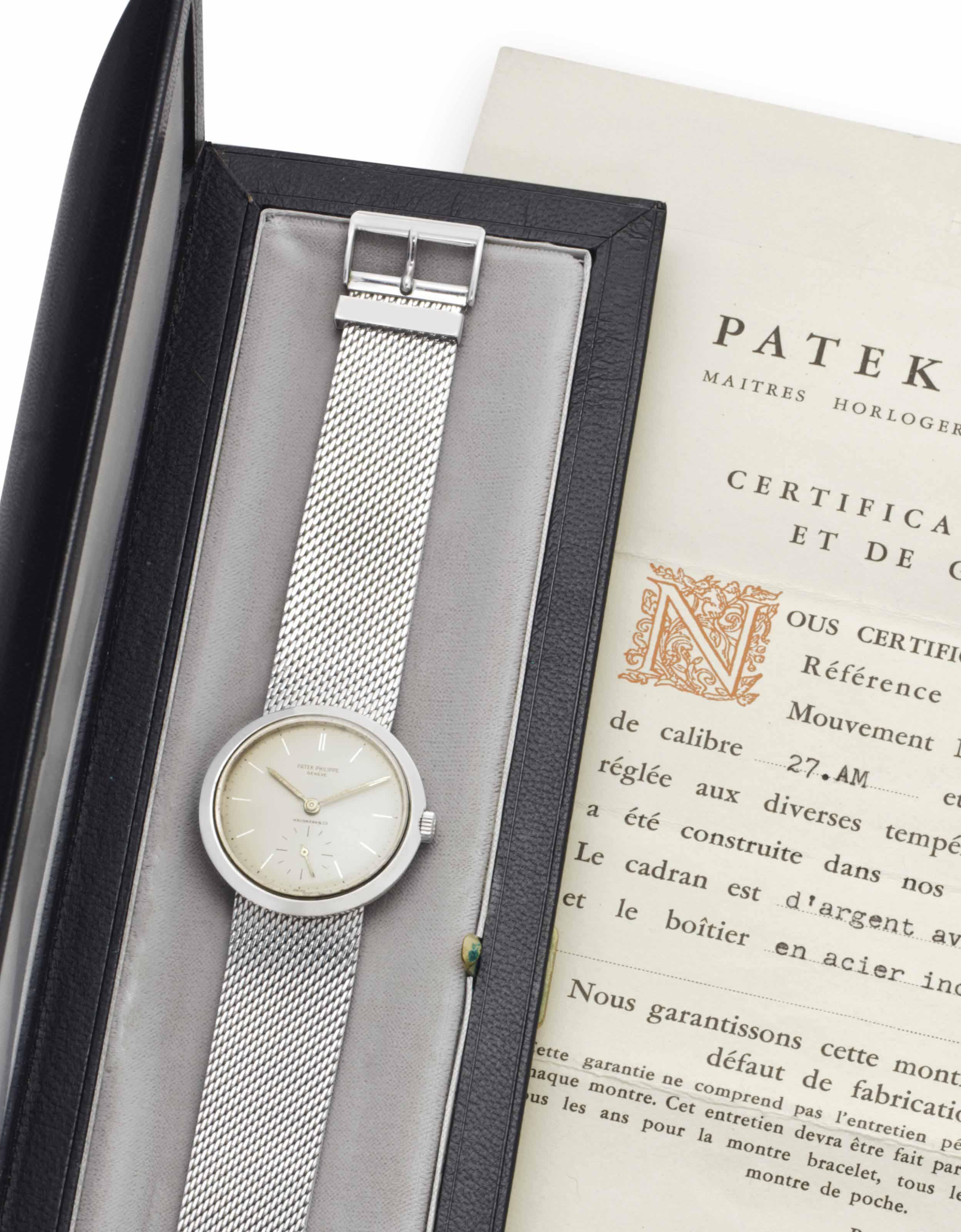 Patek Philippe. A Fine and Unu