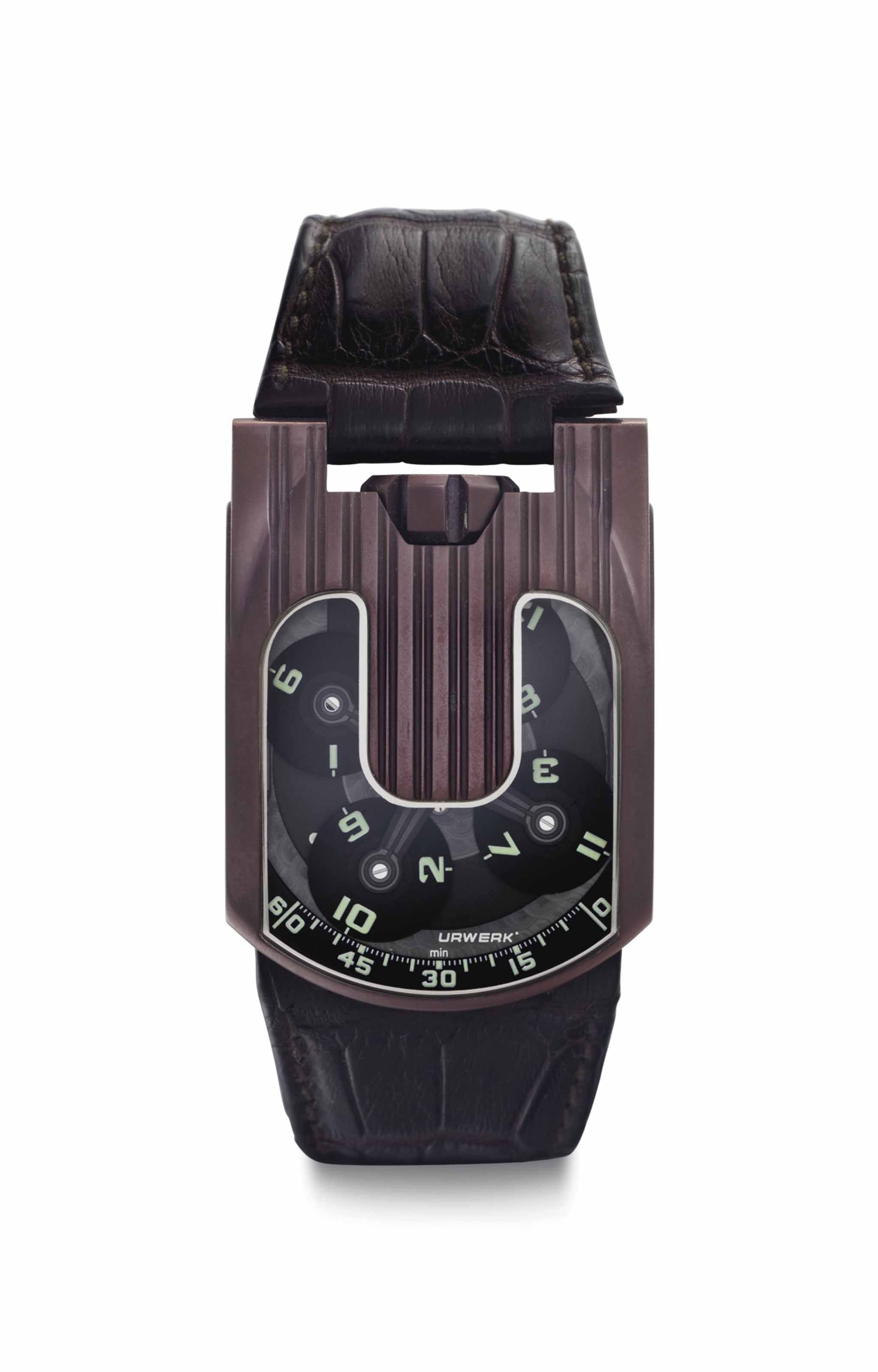 Urwerk. A Large and Unusual Ti