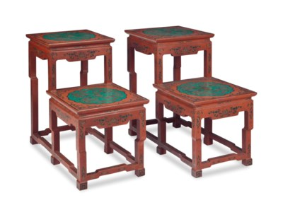 A PAIR OF CHINESE STYLE POLYCH