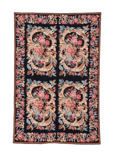 A CHINESE NEEDLEPOINT CARPET,