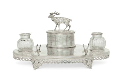 AN ENGLISH VICTORIAN SILVER PL