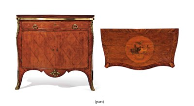 A GEORGE III GILT-LACQUERED, B