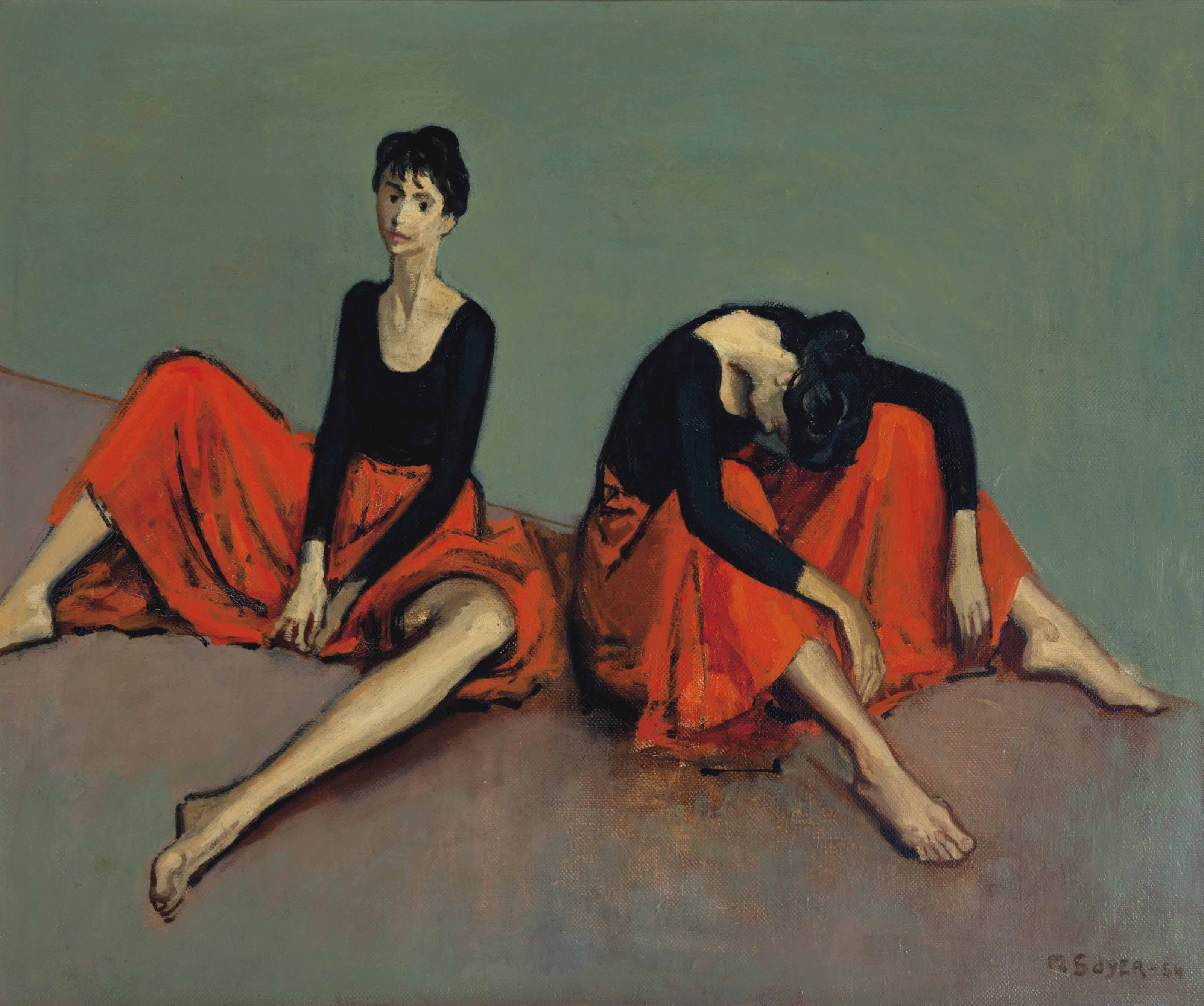 Moses Soyer (American, 1899-19