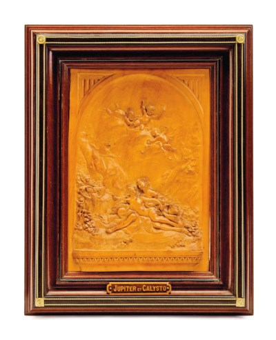 A CARVED BOXWOOD PLAQUE OF JUP