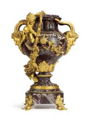 A FRENCH ORMOLU-MOUNTED ROUGE