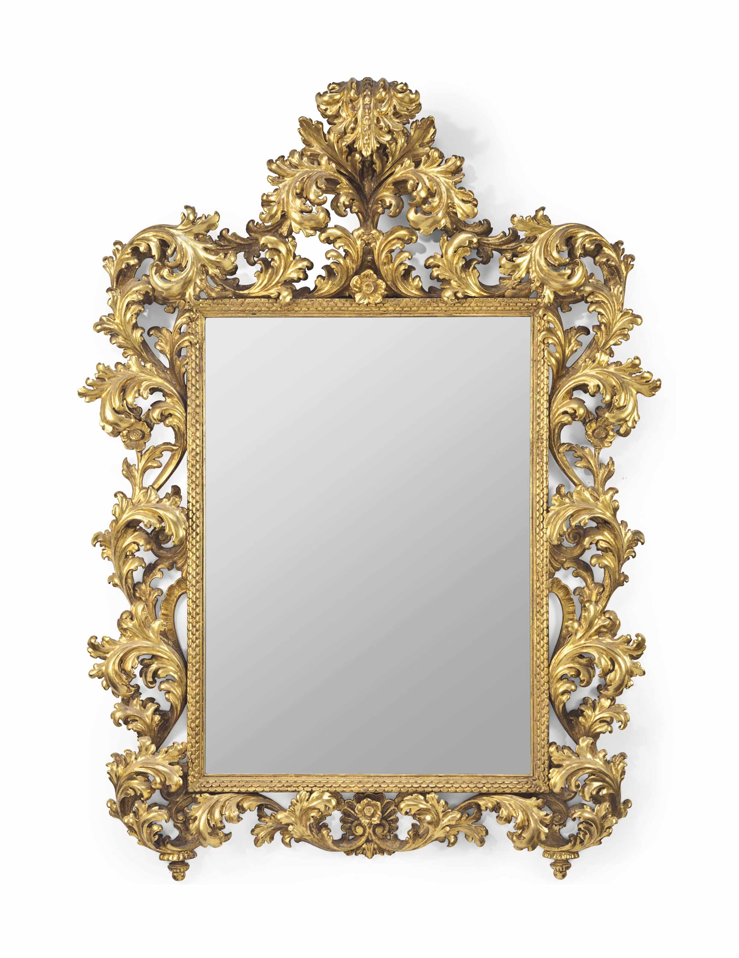 A LARGE CONTINENTAL GILTWOOD M