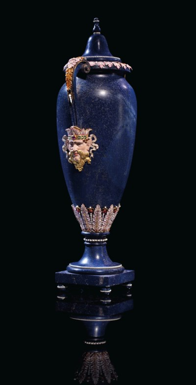 A FRENCH SILVER-GILT AND ENAME