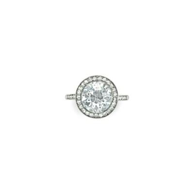 A BELLE ÉPOQUE DIAMOND RING, B