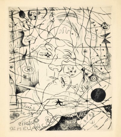 JOAN MIRO (1893-1983) and LOUI