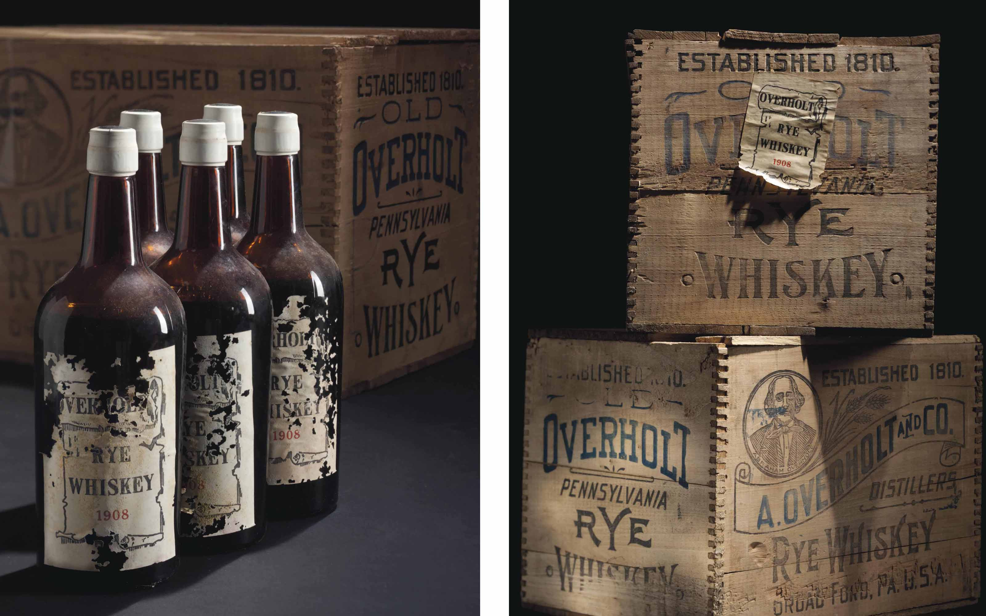 Overholt, Rye Whiskey 1912