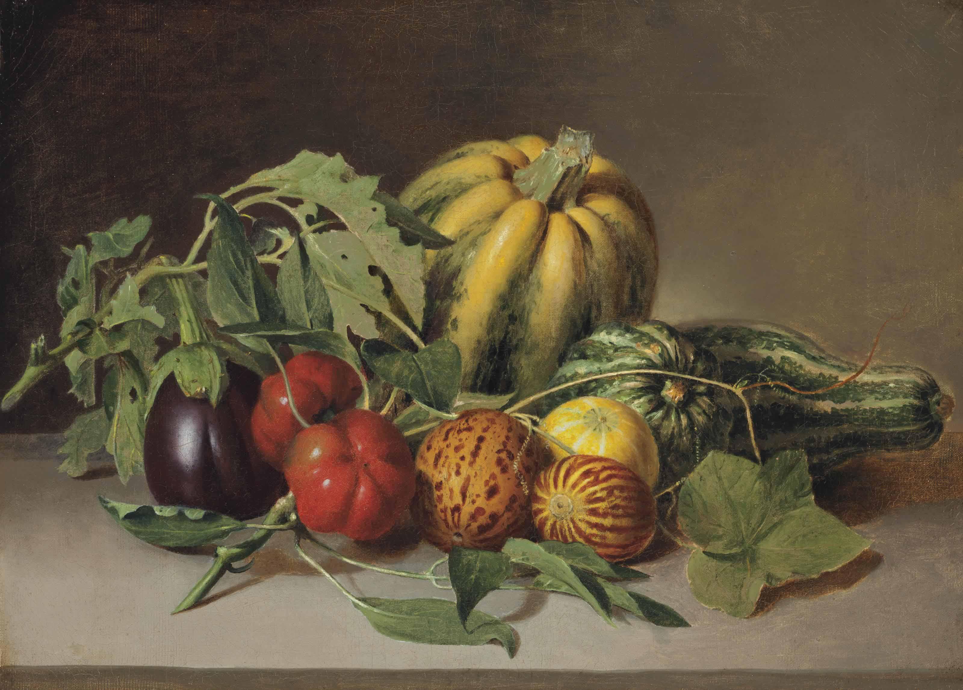 Vegetables: Still Life