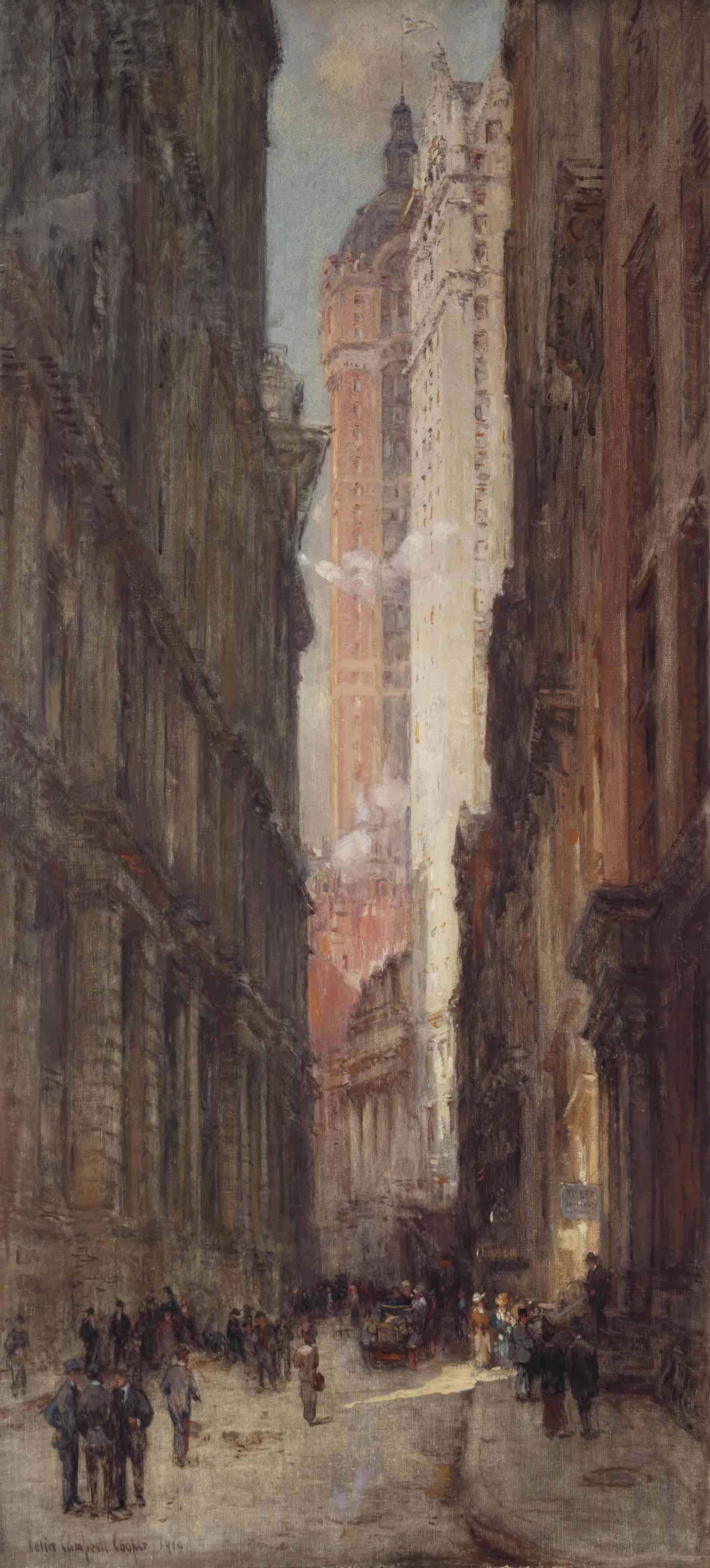 Liberty Street Crevasse, N.Y.C.
