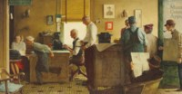 Norman Rockwell Visits a Country Editor