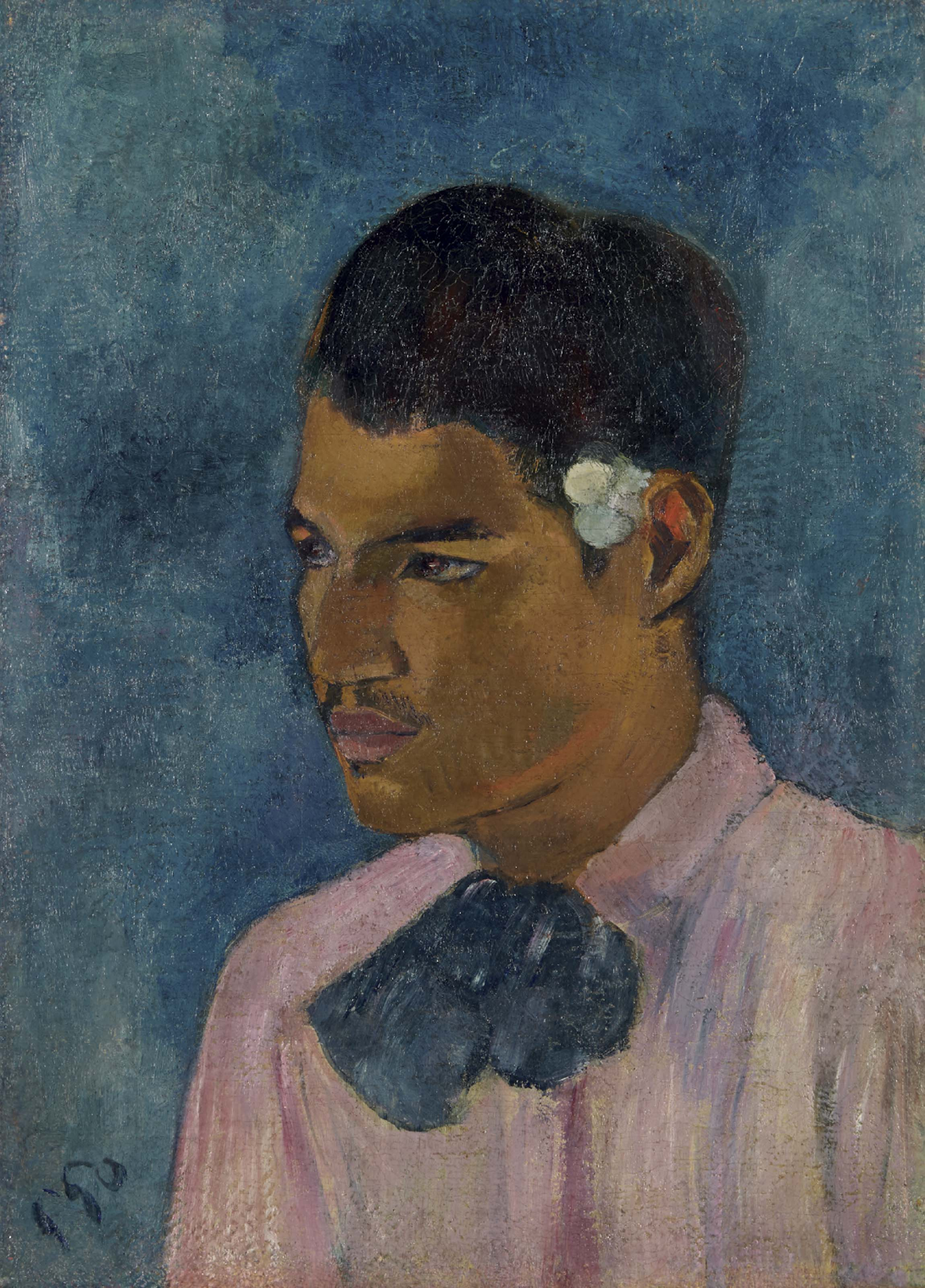 Jeune homme à la fleur