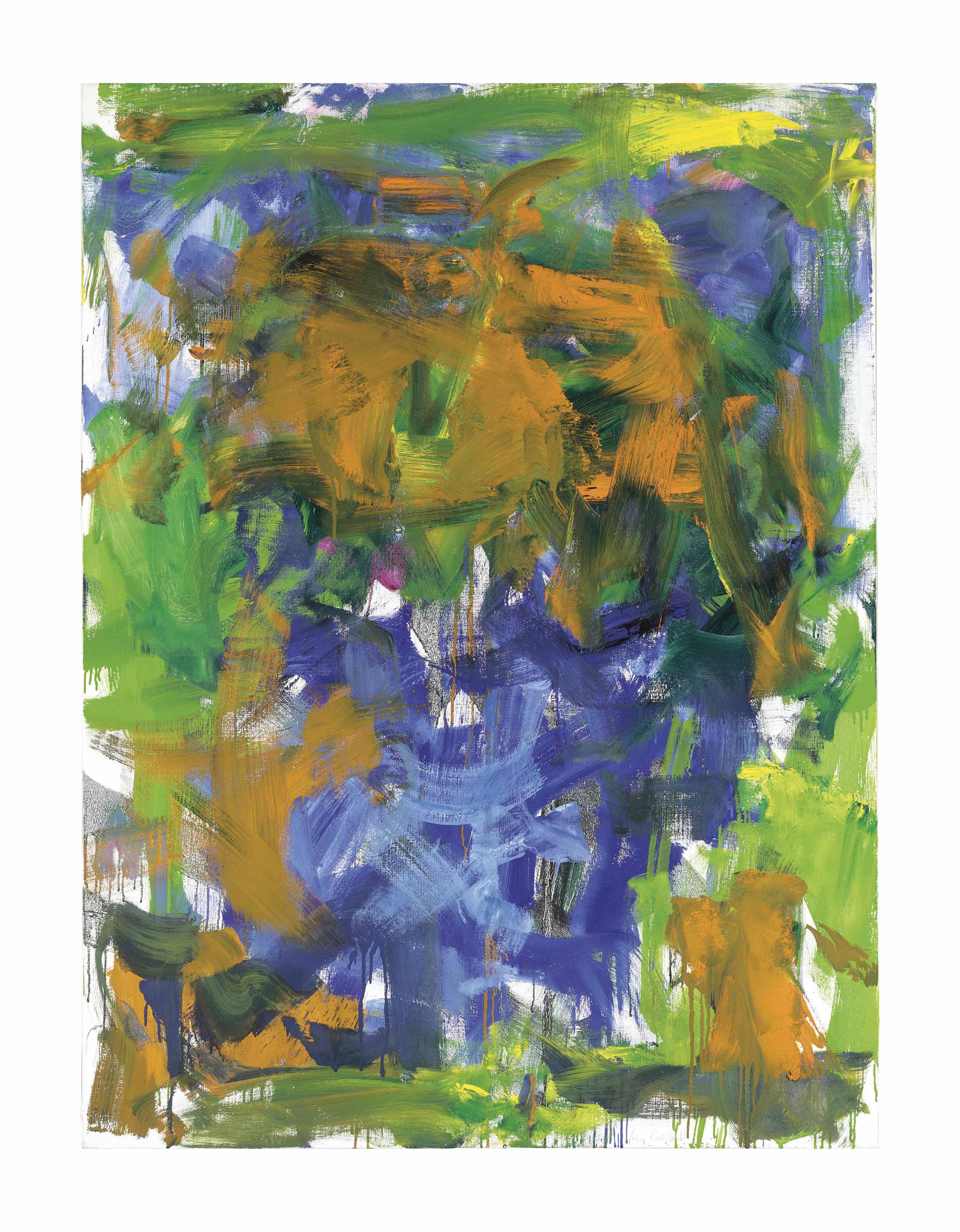 Joan Mitchell Art Image Search Results: Joan Mitchell (1925-1992) , Between