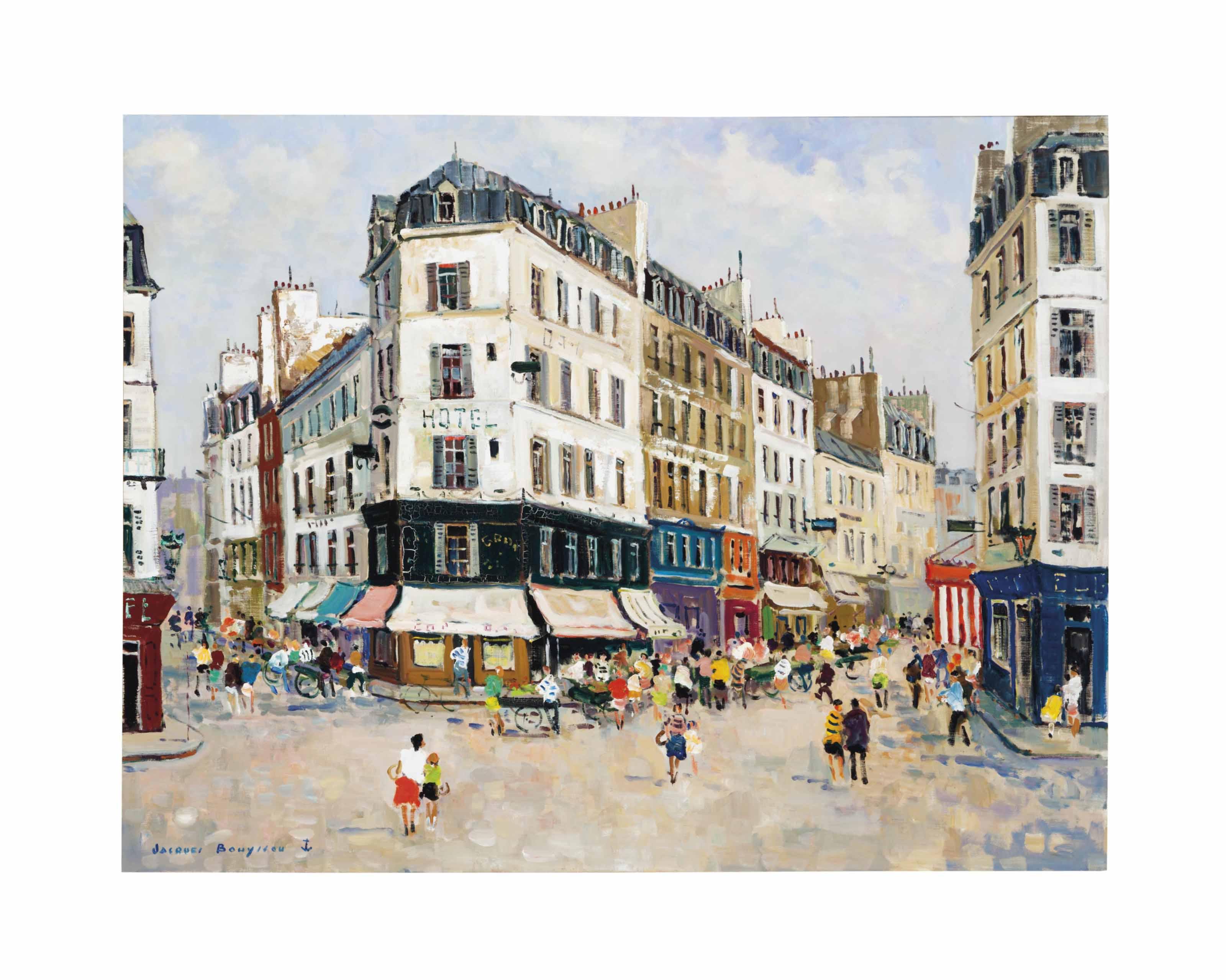 Paris rue marchande