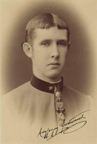 FERDINAND, FRANZ, Archduke of