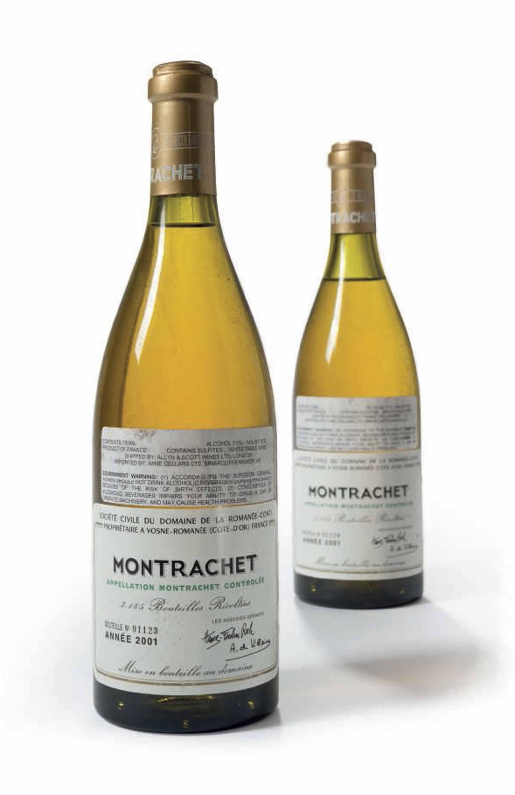 Domaine de la Romanée-Conti, Montrachet 2001