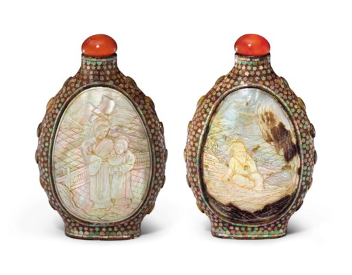 A MOTHER-OF-PEARL-INLAID REDDI