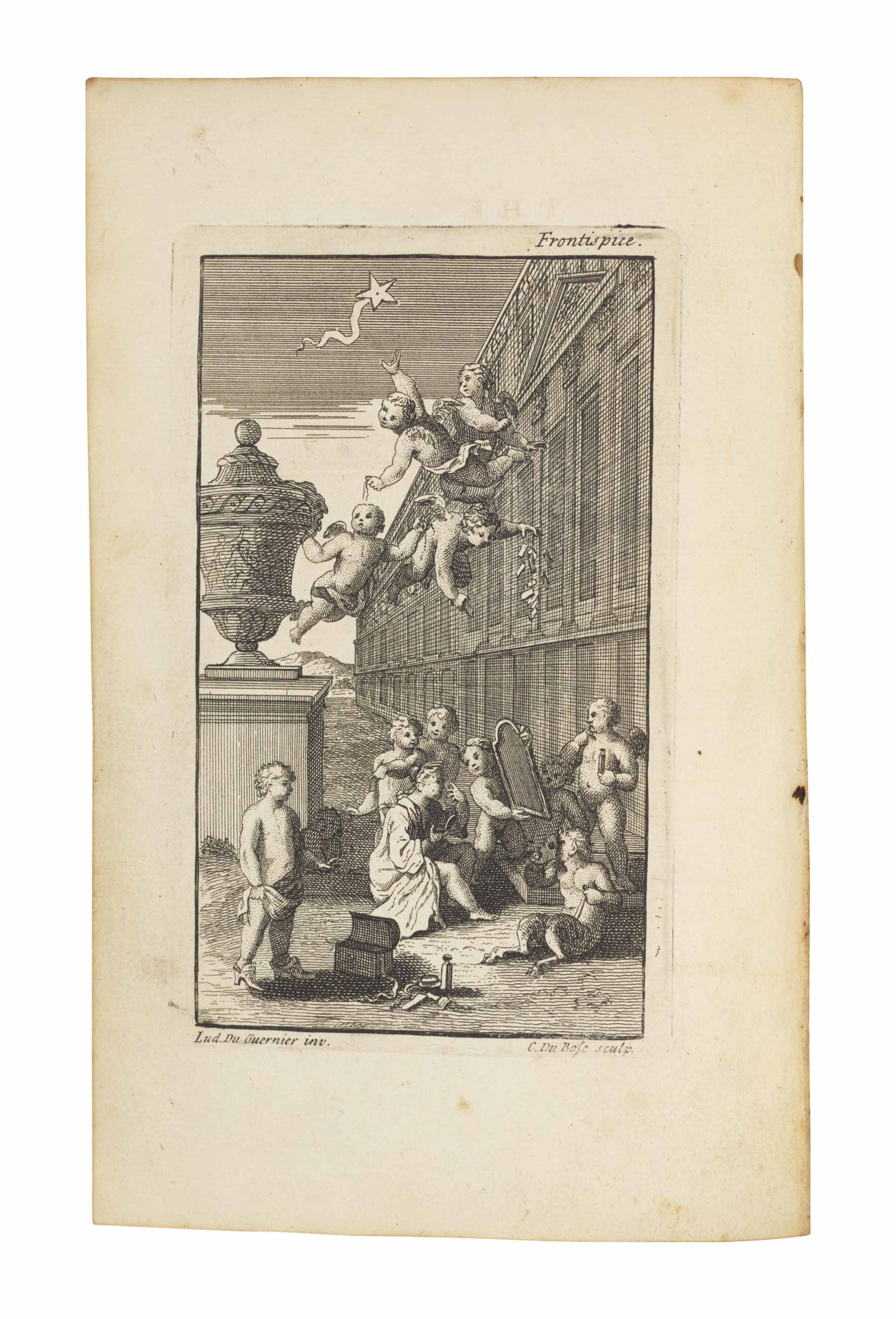 POPE, Alexander. The Rape of the Lock. An heroi-comical poem. In five canto's. London: Bernard Lintott, 1714.
