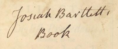 [BARTLETT, Josiah (1729-1795)]