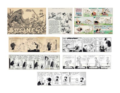 [CARTOONS, COMIC STRIPS AND IL