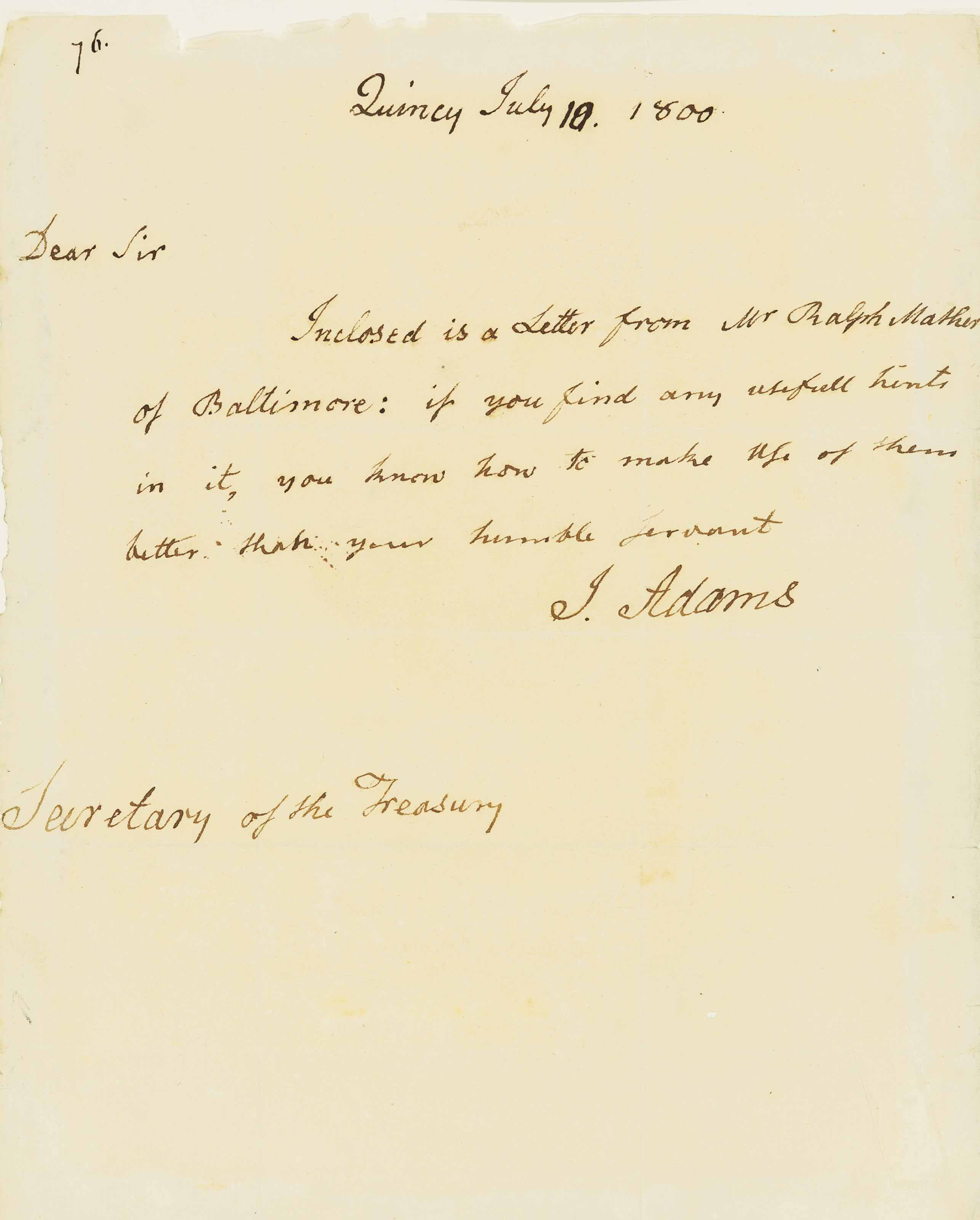 PRESIDENTS] A group of 36 documents and letters signed by P...