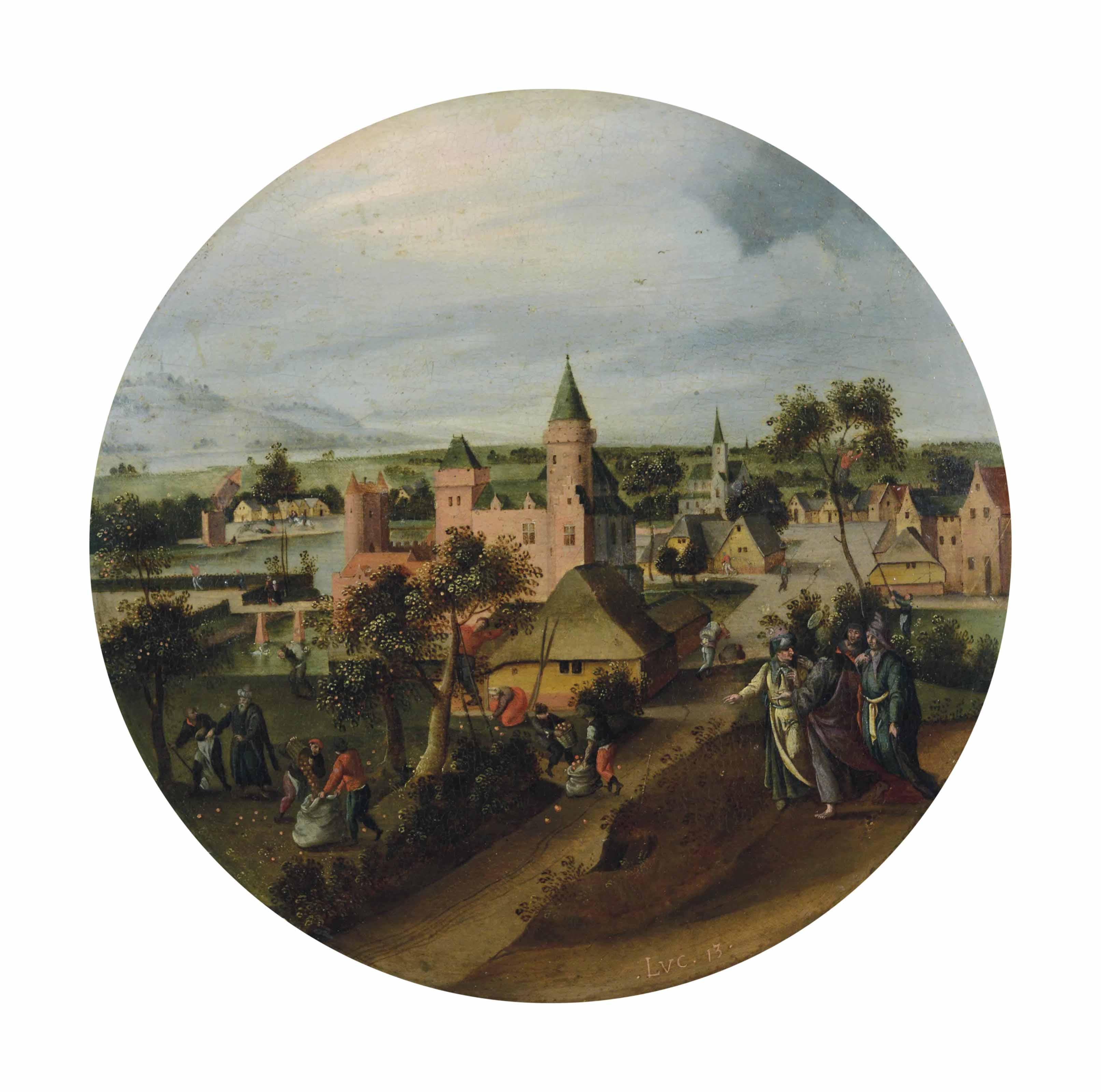 ABEL GRIMMER (ANVERS, VERS 1570-1619)