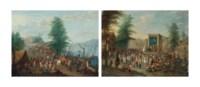 Le marché aux poissons; et La Commedia dell'Arte