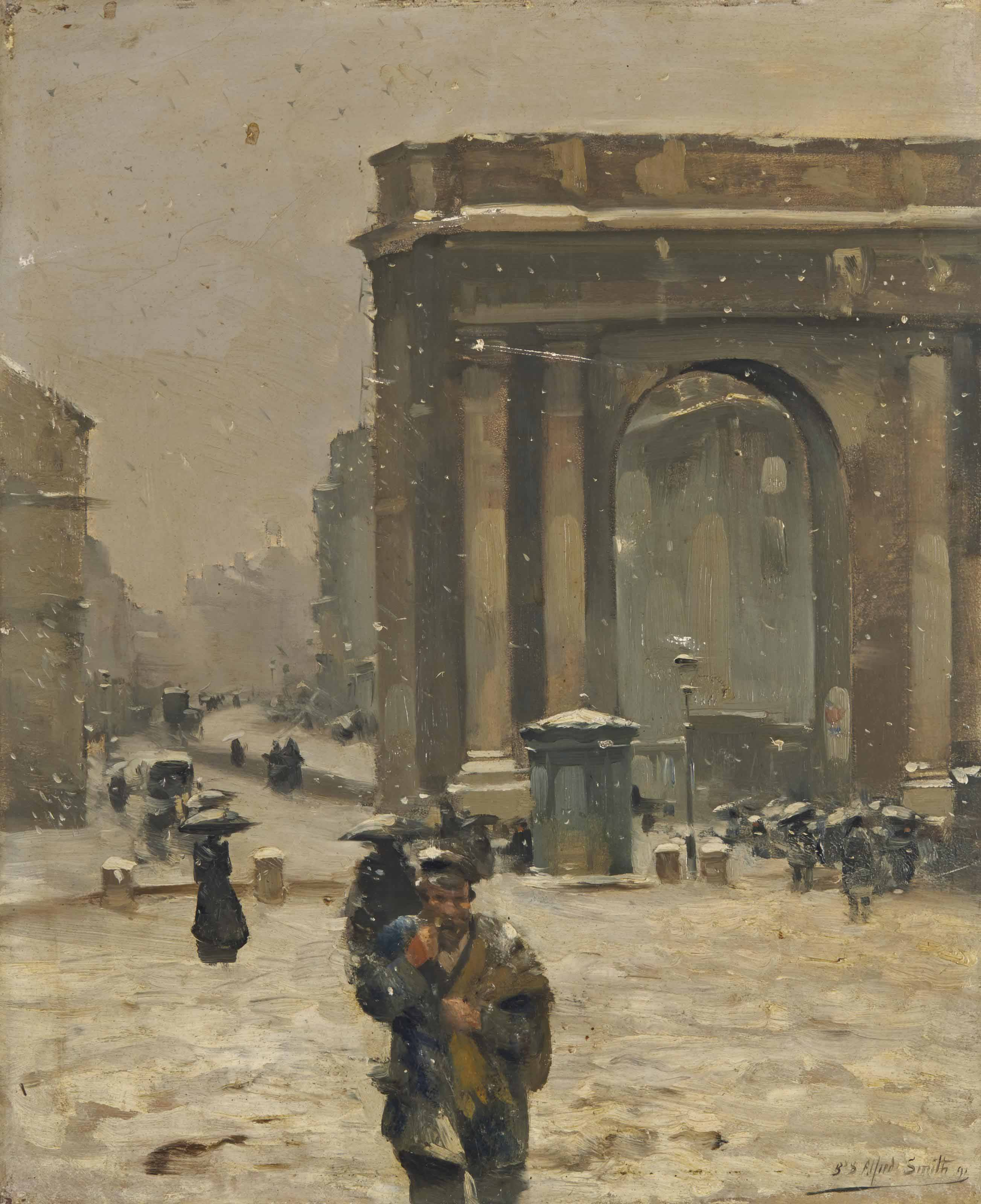 ALFRED SMITH (BORDEAUX 1854-1932)