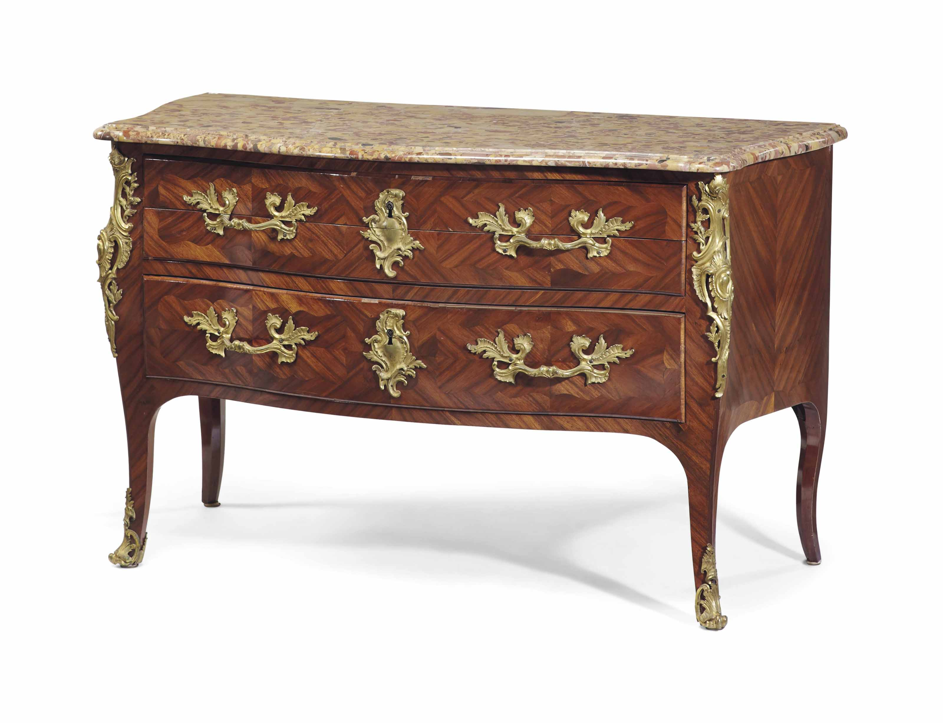 COMMODE EN SECRETAIRE D'EPOQUE LOUIS XV
