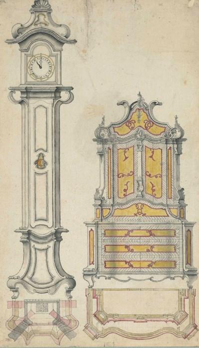 Ecole allemande vers 1740