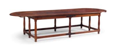 TABLE DE REFECTOIRE DU XVIIEME