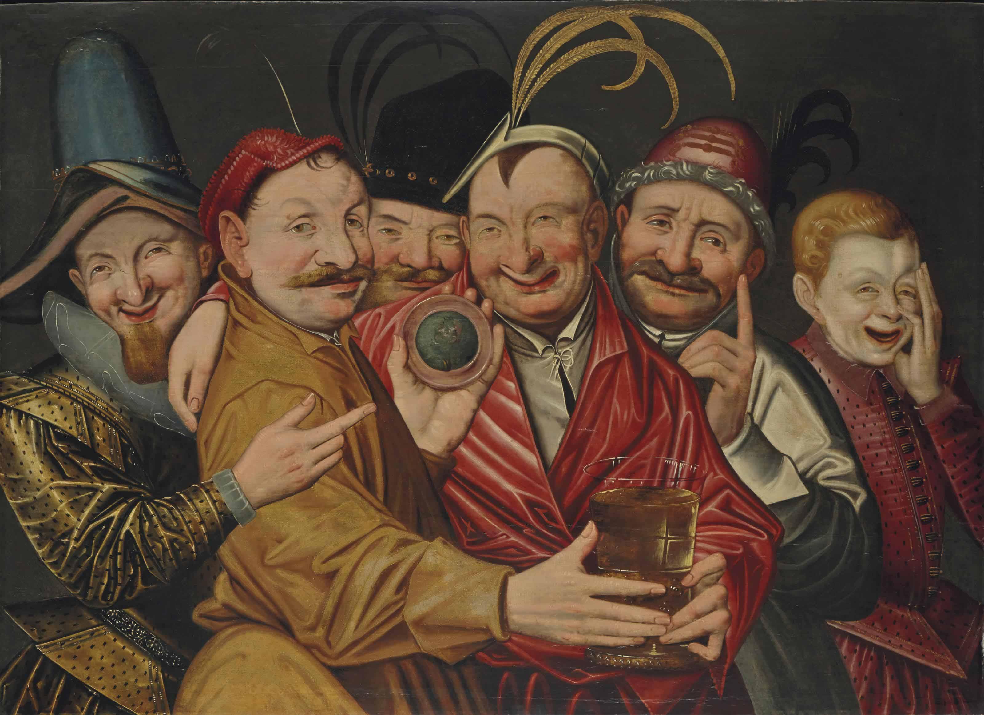 Les buveurs