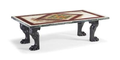 TABLE BASSE DU XXEME SIECLE